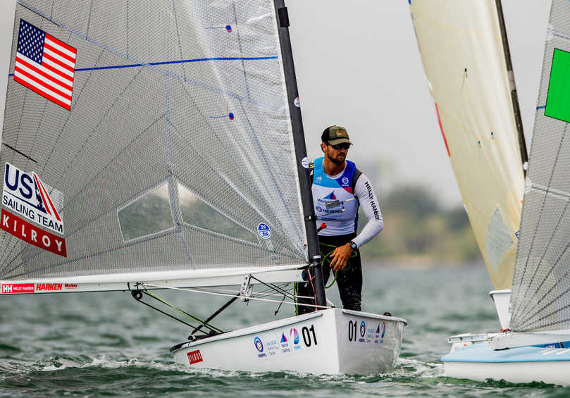 American Finn sailors fight it out for Tokyo 2020 spot at Hempel World Cup Series Miami