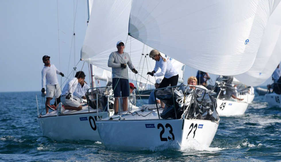 Canada's Petley-Jones Takes Lead after 6 Races at J/24 World Championship