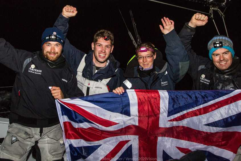 Young British crew smash length of Britain record