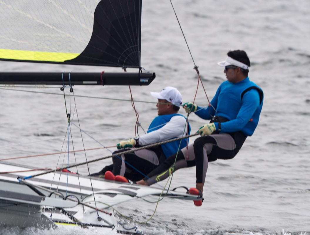 Final Day of 2018 Asian Games Sailing Competition