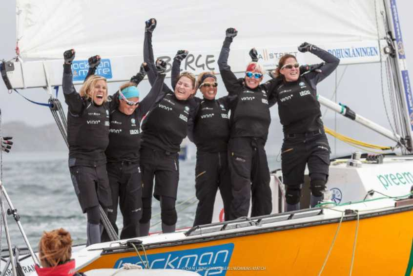 World Sailing Match Racing Rankings - 24 August 2016