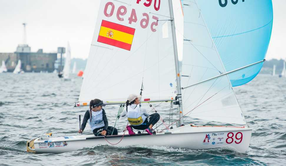 Tight racing across top teams in all three fleets on Day 4