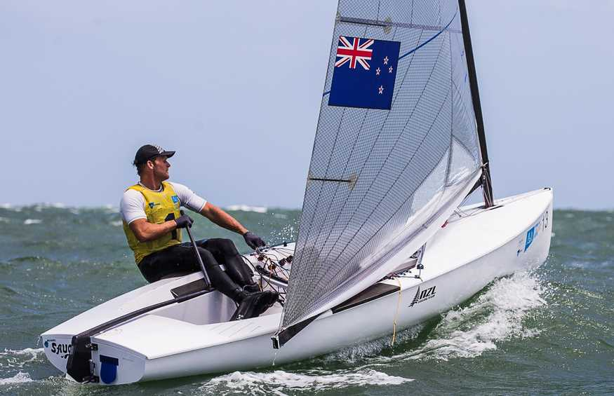 Josh Junior secures Finn Gold Cup after epic medal race in Melbourne