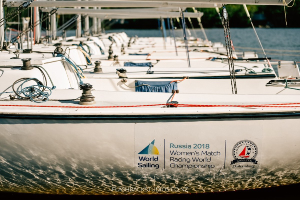 The Women's Match Racing World Championship Begins Tomorrow