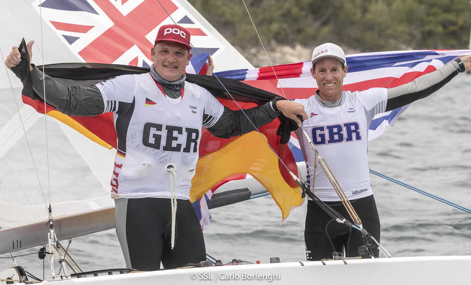 Paul Goodison and Frithjof Kleen winners of 2017 Star Sailors League Finals