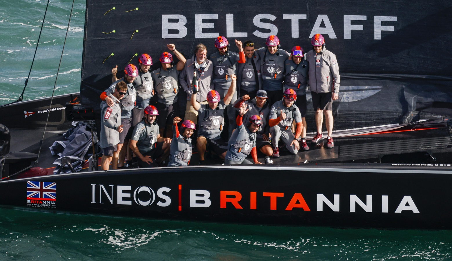INEOS TEAM UK win the PRADA Cup Round Robins