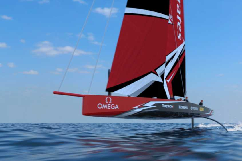 America's Cup Class AC75 boat concept revealed