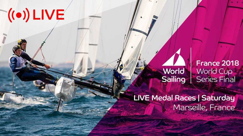 LIVE | Sailing's World Cup Series Final Marseille | Medal Races | Saturday 9th June