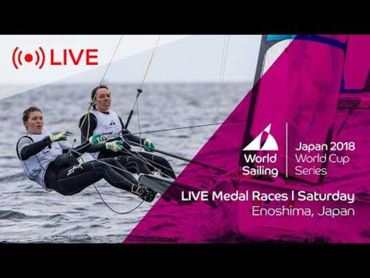 LIVE | Sailing's World Cup Series Enoshima, Japan | Medal Races | Saturday 15th September
