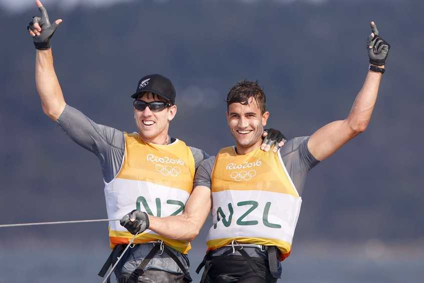 NEWSFLASH - New Zealand win 49er Gold, Australia silver, Germany bronze