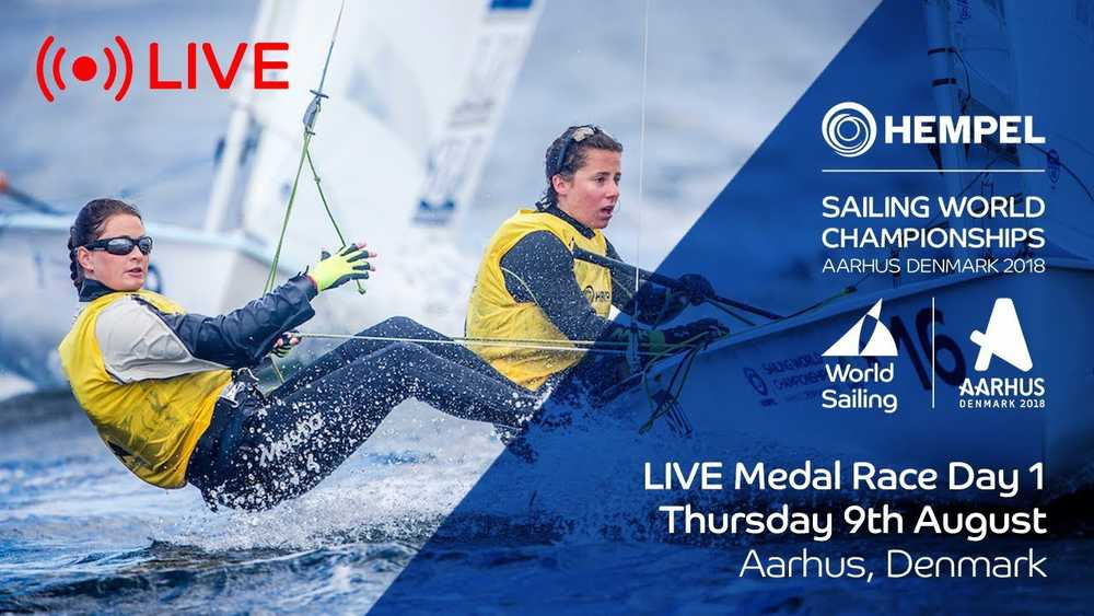 LIVE Sailing | Hempel Sailing World Championships | Medal Race Day 1