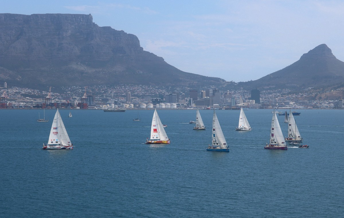 Clipper Round the World Yacht Race departs South Africa