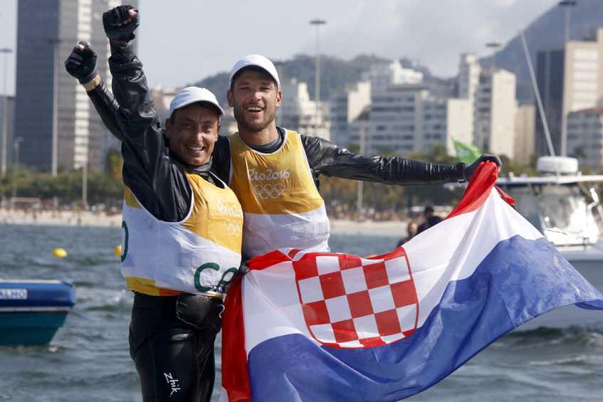 NEWSFLASH - Croatia wins first ever sailing gold in Men's 470, Australia silver, Greece bronze