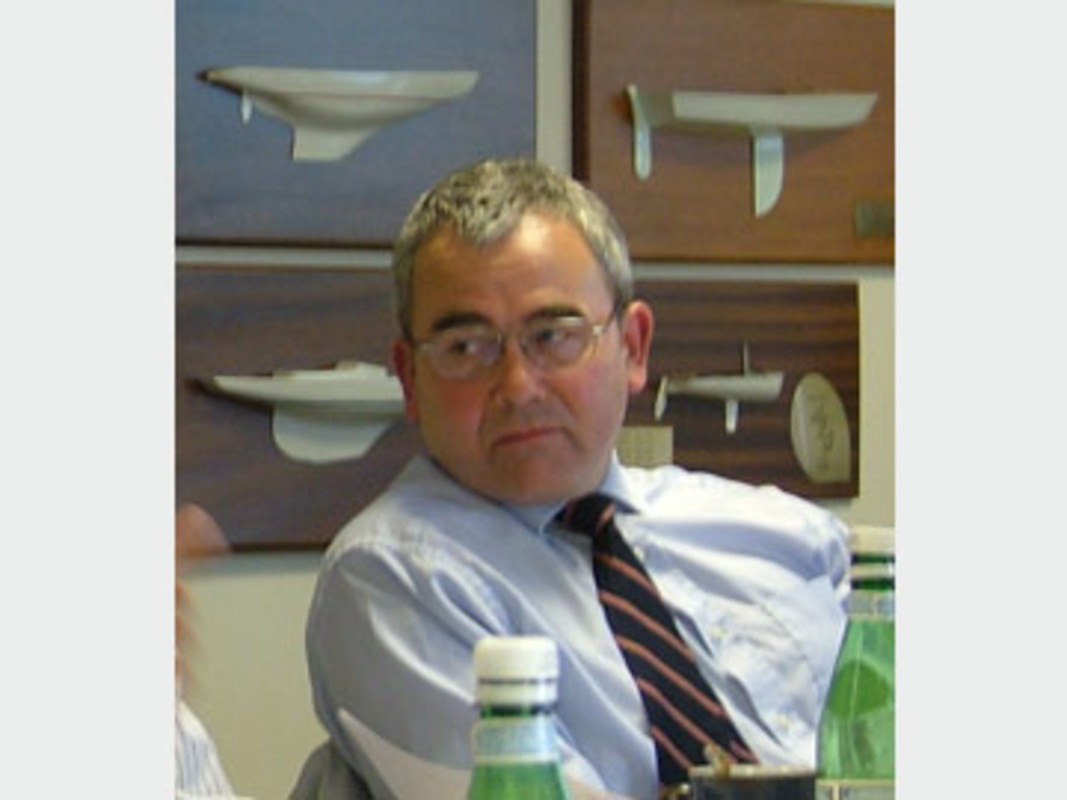 Dick Batt, chairman of the ISAF Equipment Committee