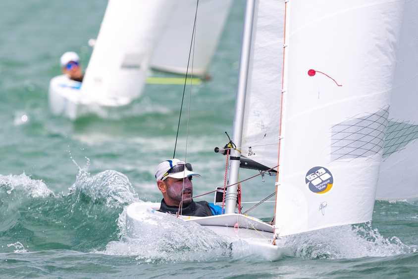 Paralympians make strong start on Day 1 of the 2019 Para World Sailing Championships