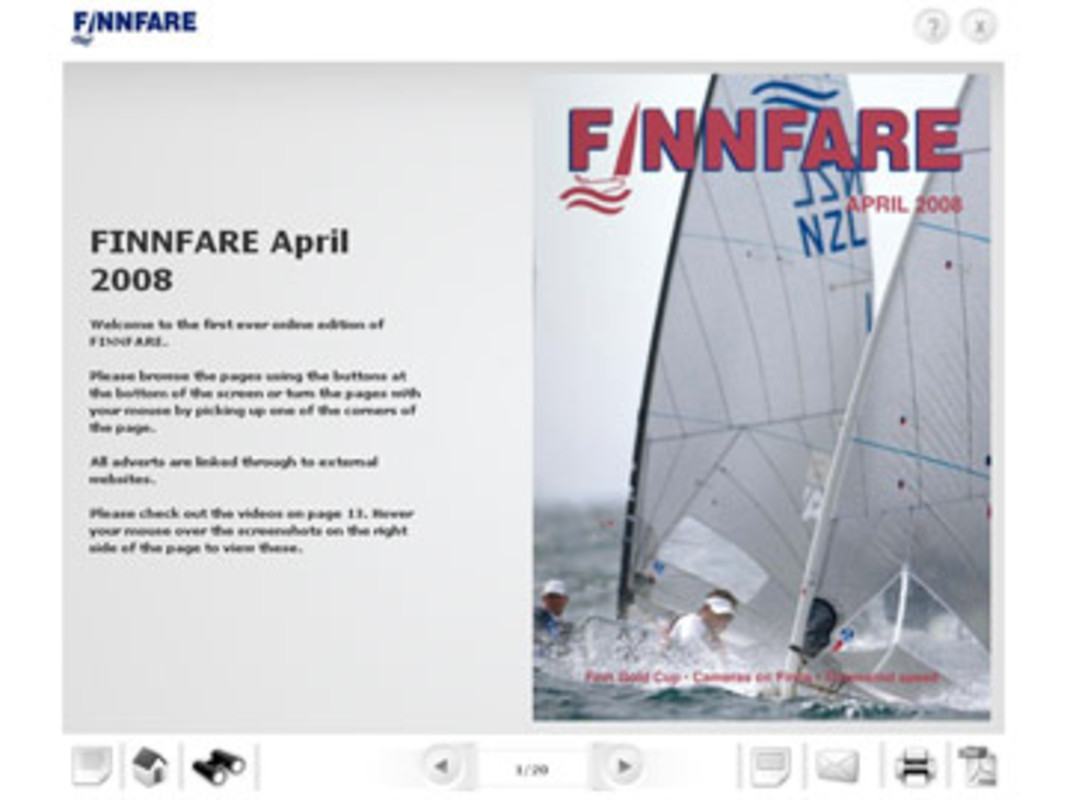 You can now read FINNFARE online