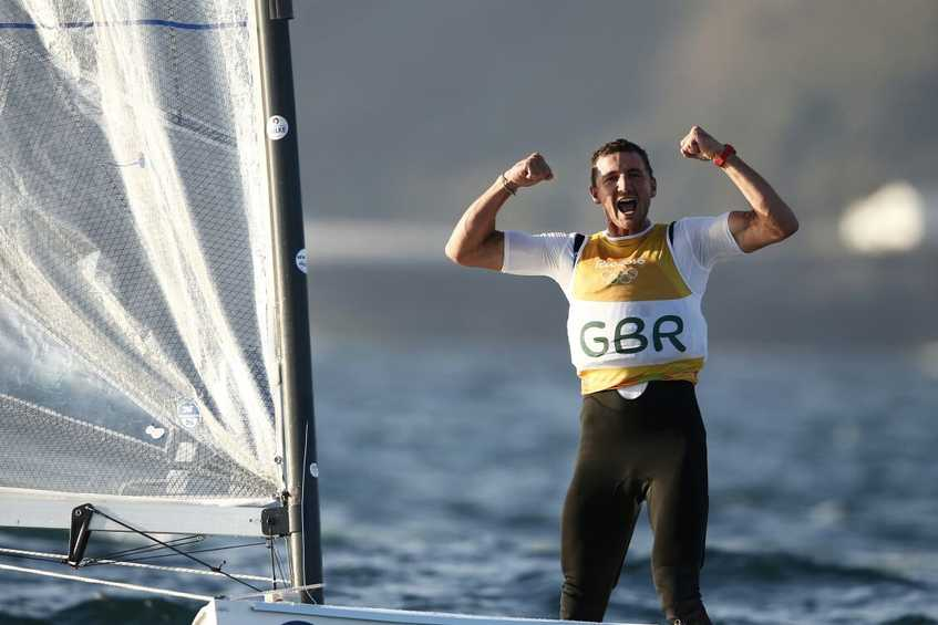 NEWSFLASH - Great Scott wins Finn gold for Great Britain