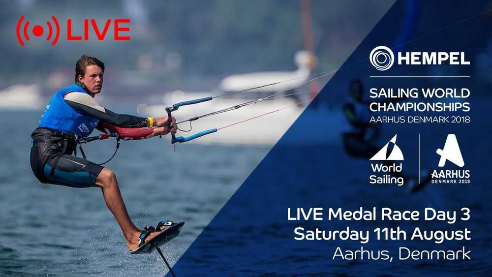LIVE Sailing | Hempel Sailing World Championships | Medal Race Day 3