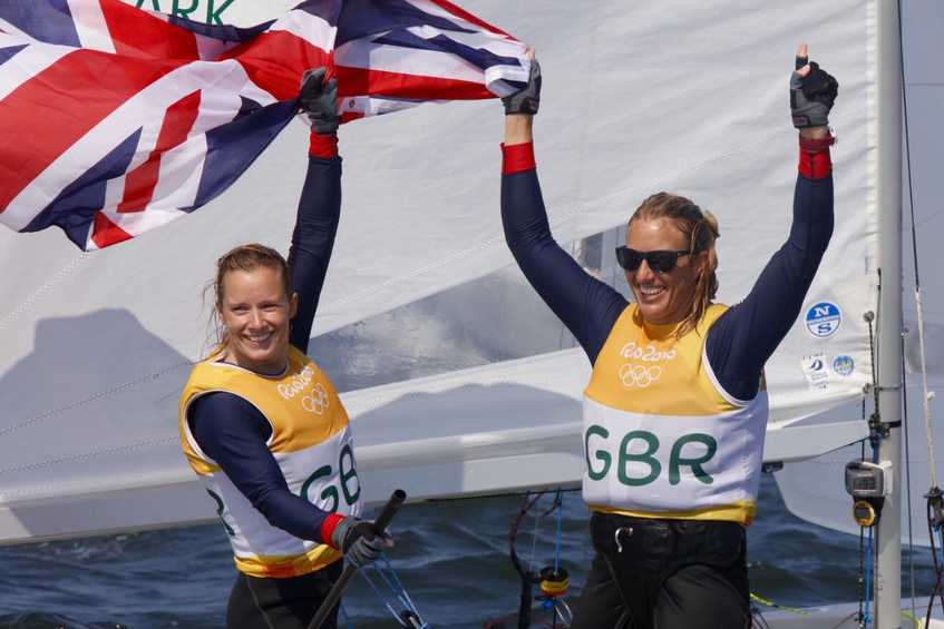 NEWSFLASH - GBR wins 470 Women's gold, New Zealand silver, France bronze in tight Medal Race
