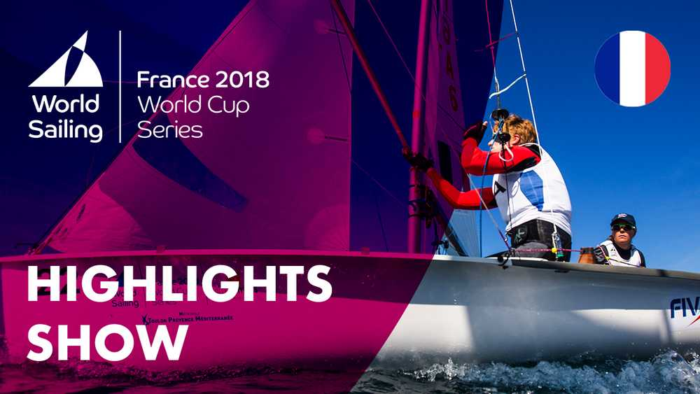 Sailing's World Cup Series Highlights Show | Hyères, France 2018