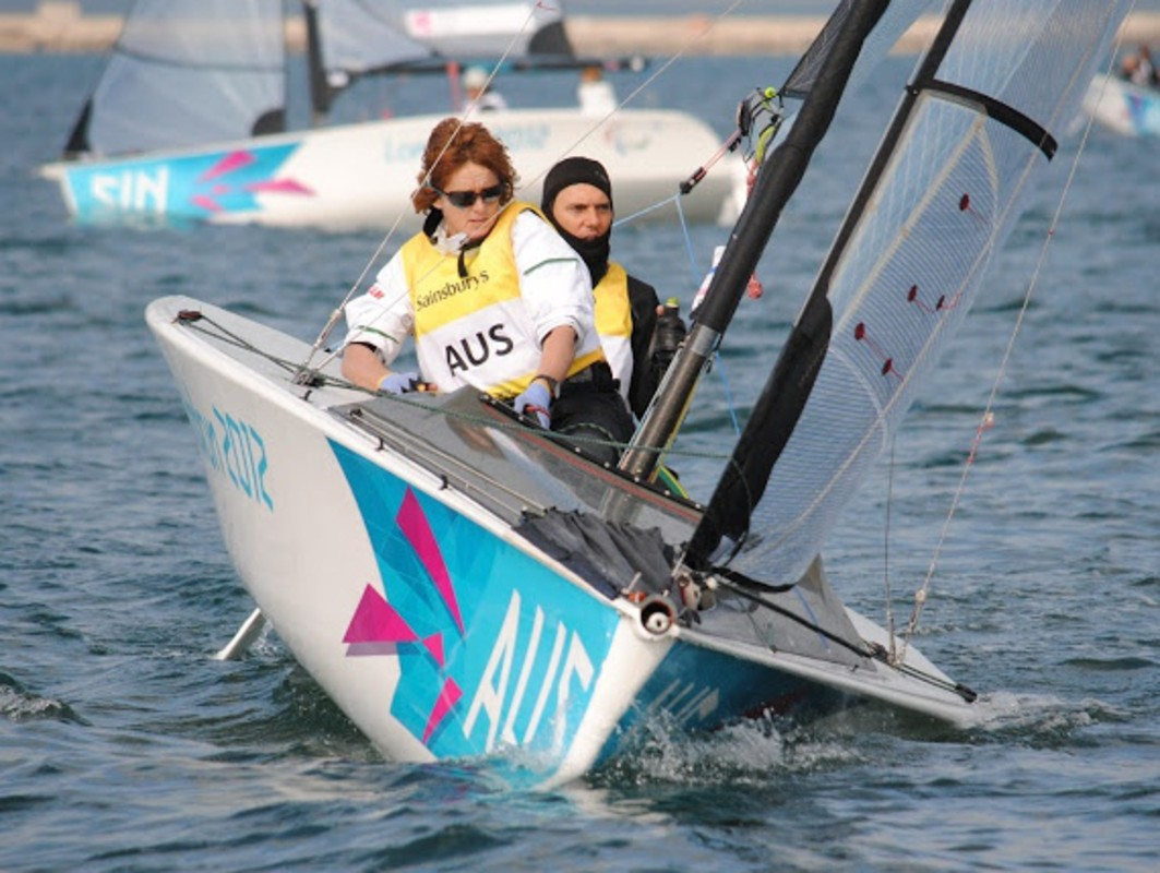 2012 Two Person Keelboat Gold Medallists