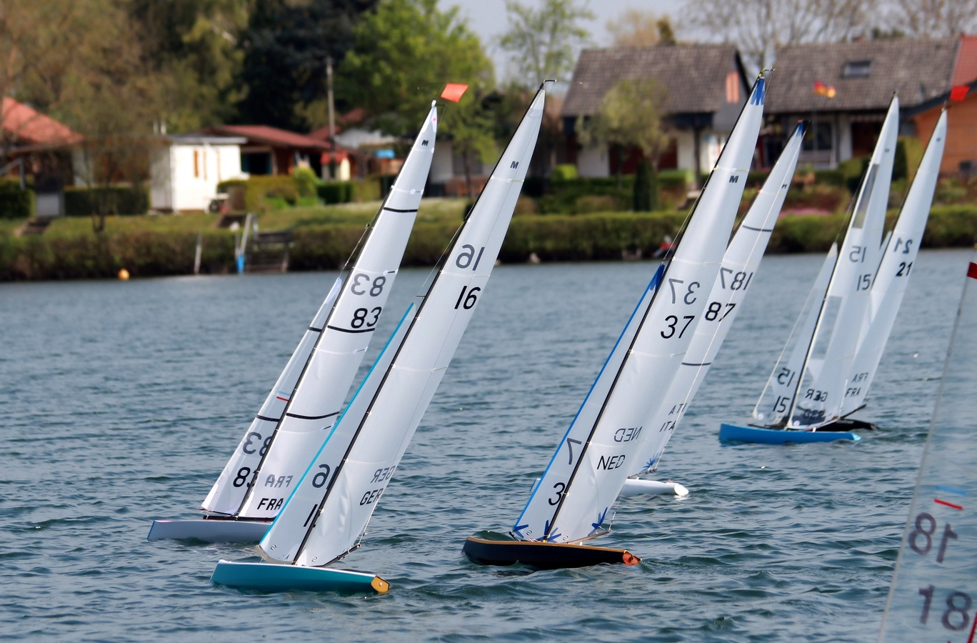 Largest Ever Field Registered for 2018 IRSA World Championship Radio Sailing in Germany