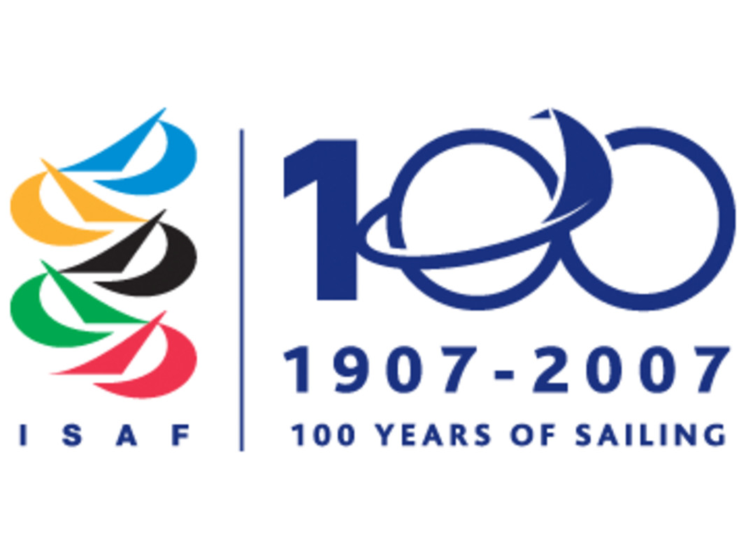 The ISAF Centenary logo