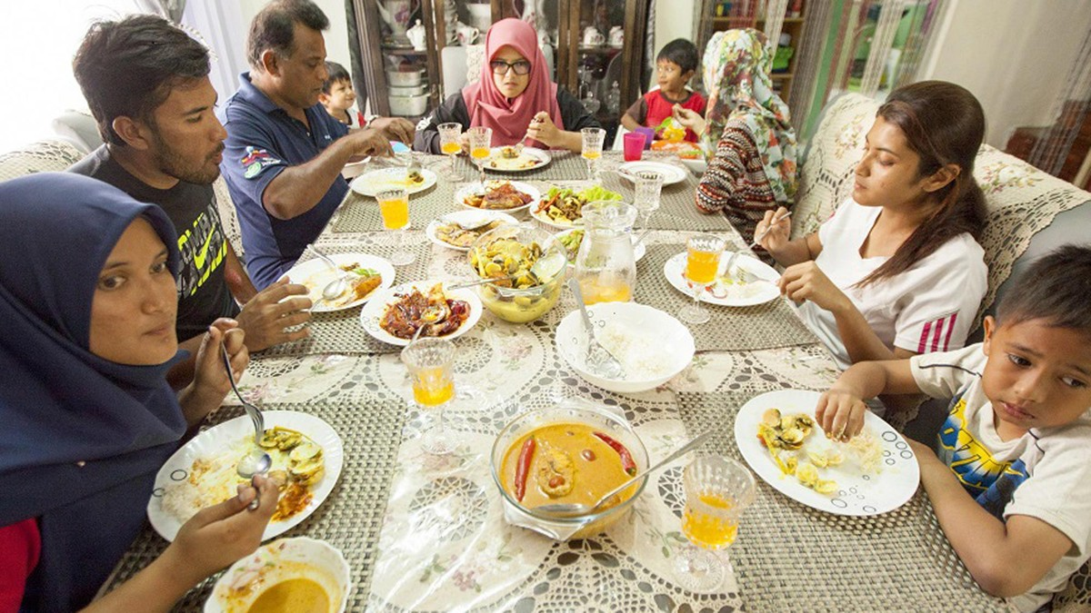 The Mohd Afendy family
