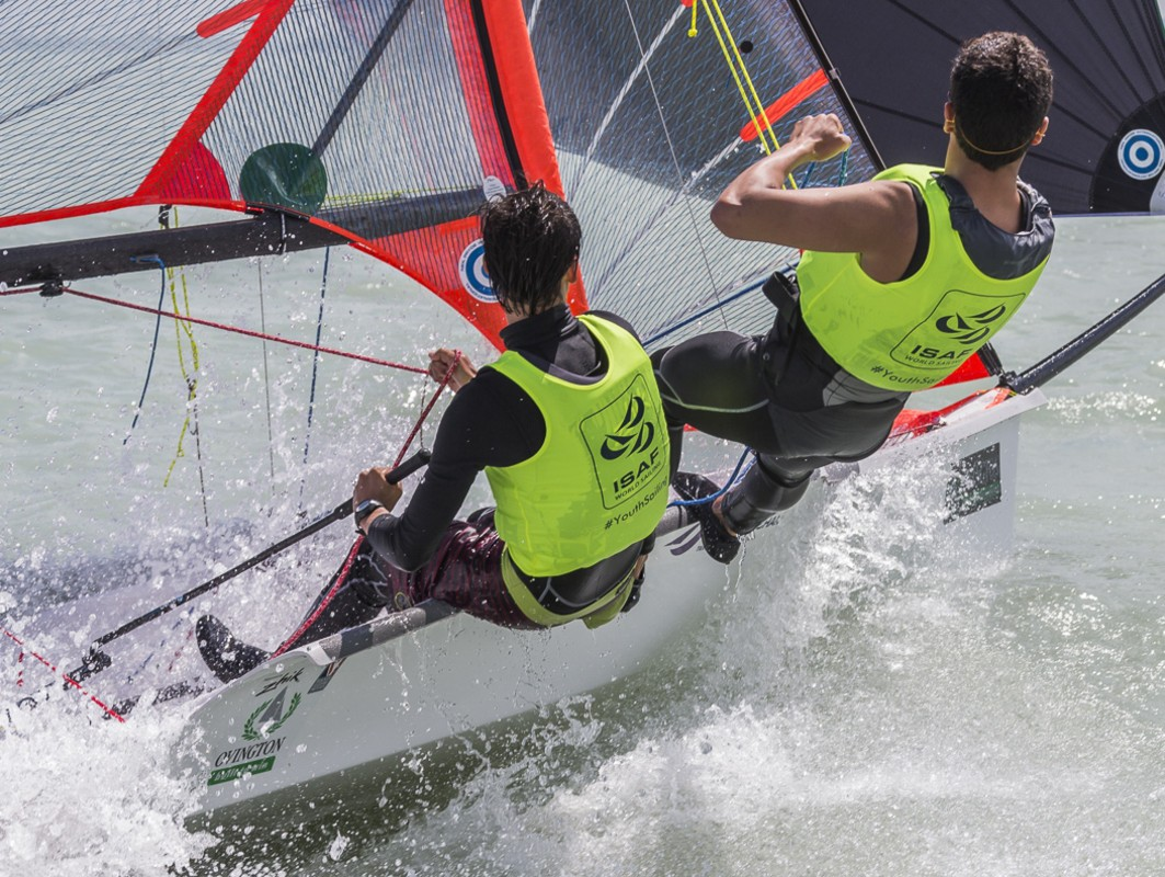 Lake Balaton hosted the Hungarian ENP clinic in the 29er, 420 and Laser Radial