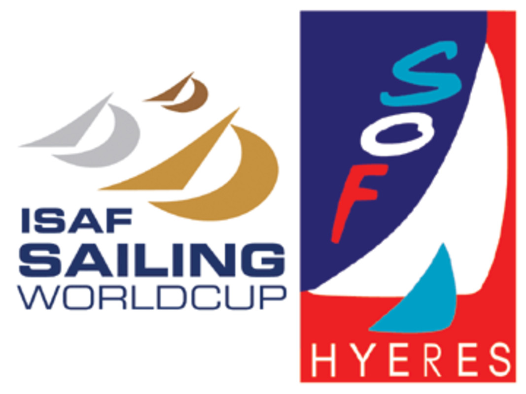 The ISAF Sailing World Cup and Semaine Olympique Francaise logos