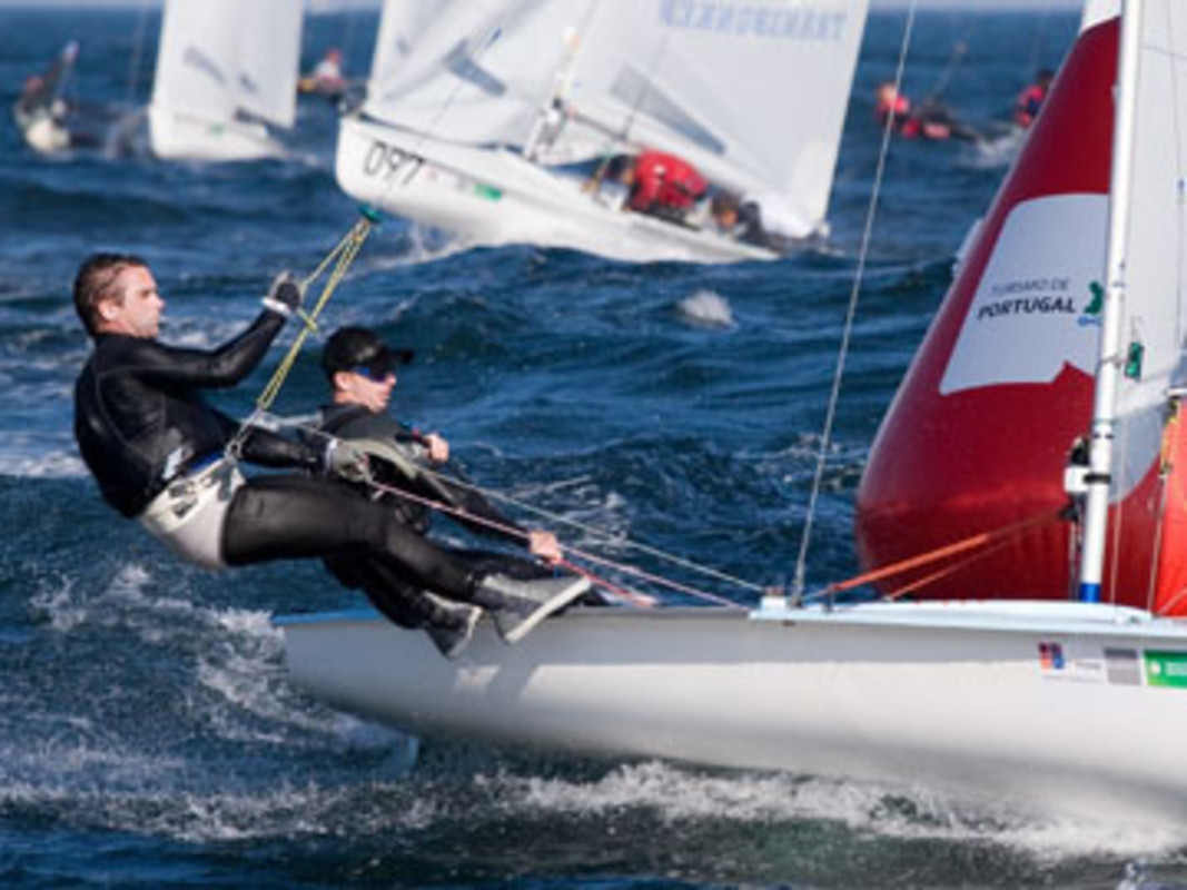 Gerald OWENS at the ISAF Worlds