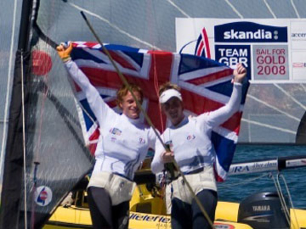 Great Britain finished top of the Medal Table in Cascais
