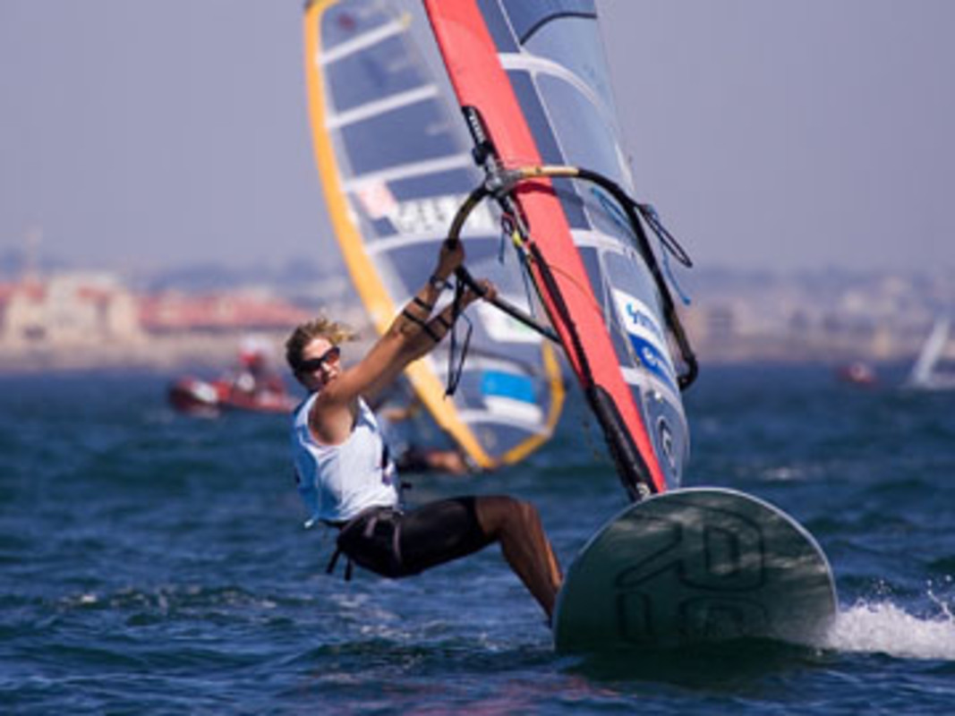 Barbara KENDALL at the 2007 ISAF Sailing World Championships