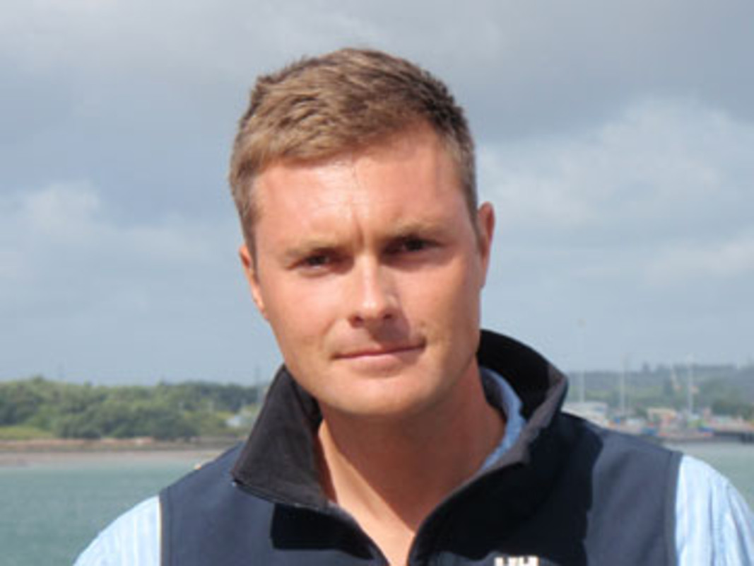 Dan Jaspers, ISAF Training and Development Manager