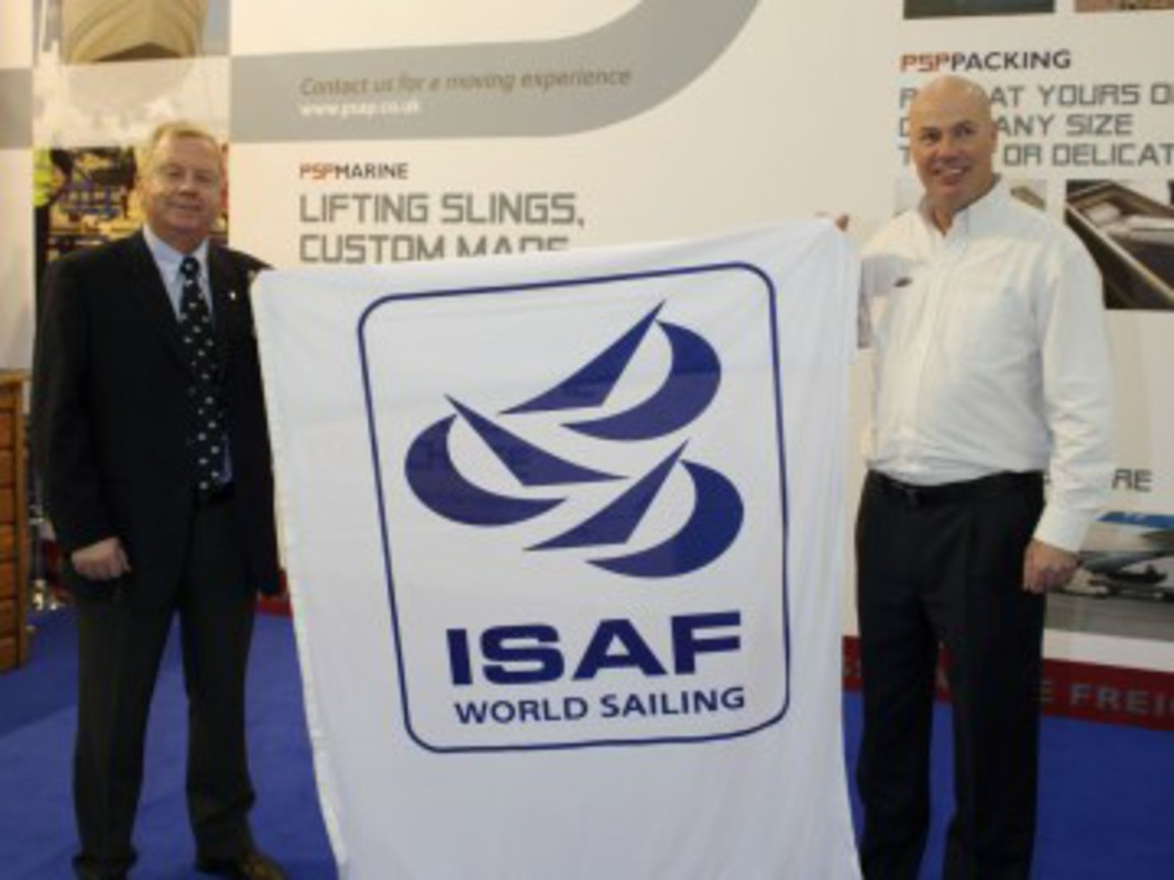 ISAF President Göran Petersson with PSP Managing Director Frank Dixie