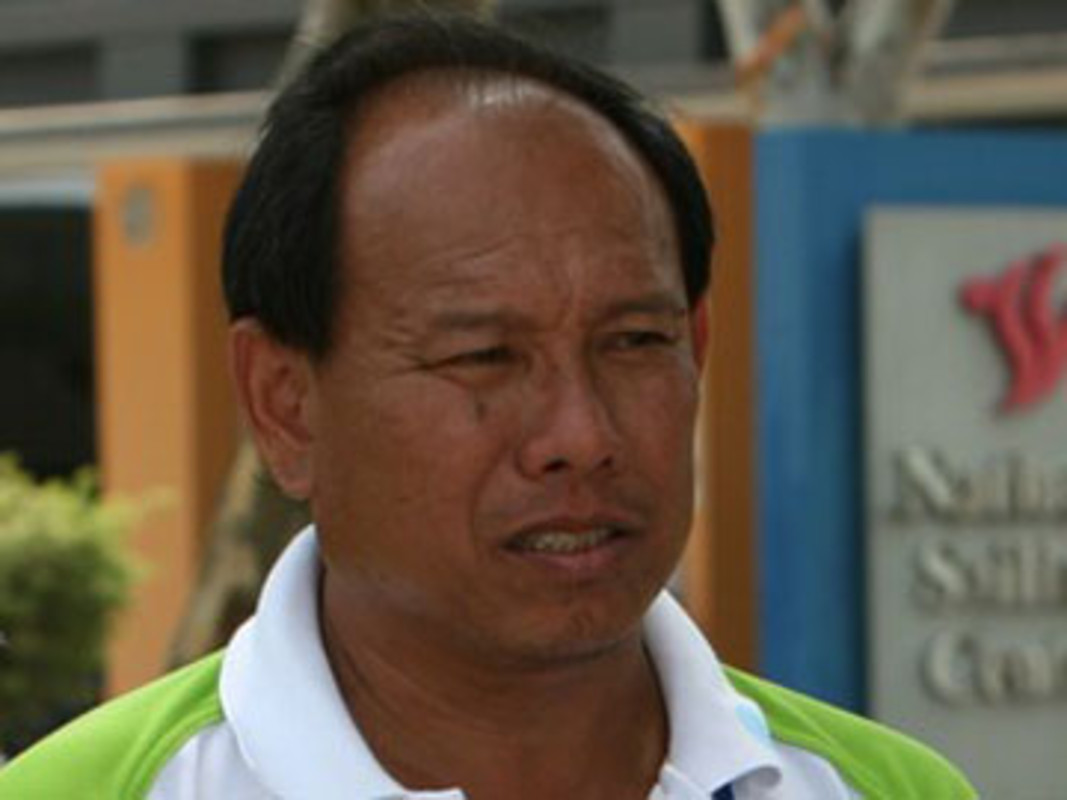 Edwin Low at the Asian Youth Games