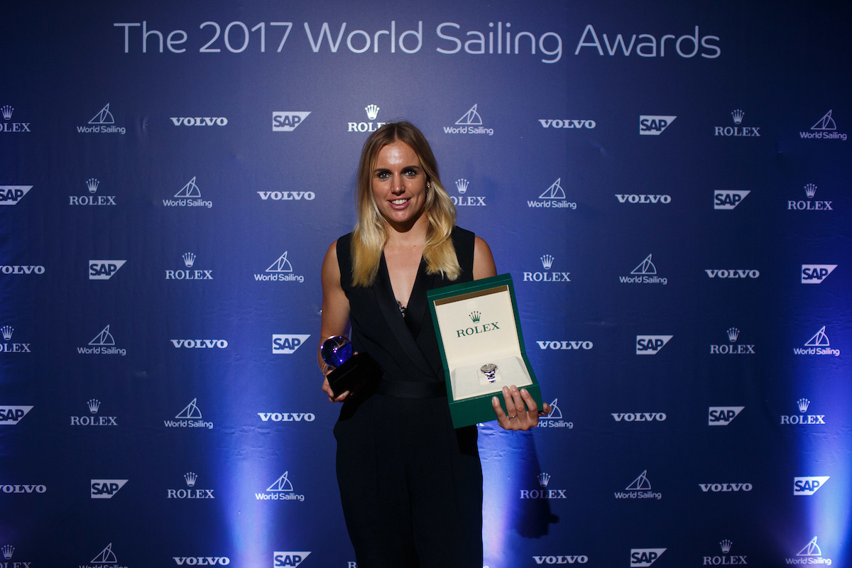 Bouwmeester and Burling the big winners at inaugural World Sailing Awards