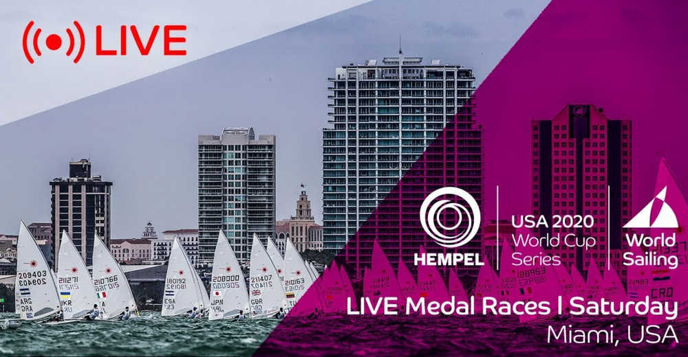 Hempel World Cup Series Miami - Medal Races