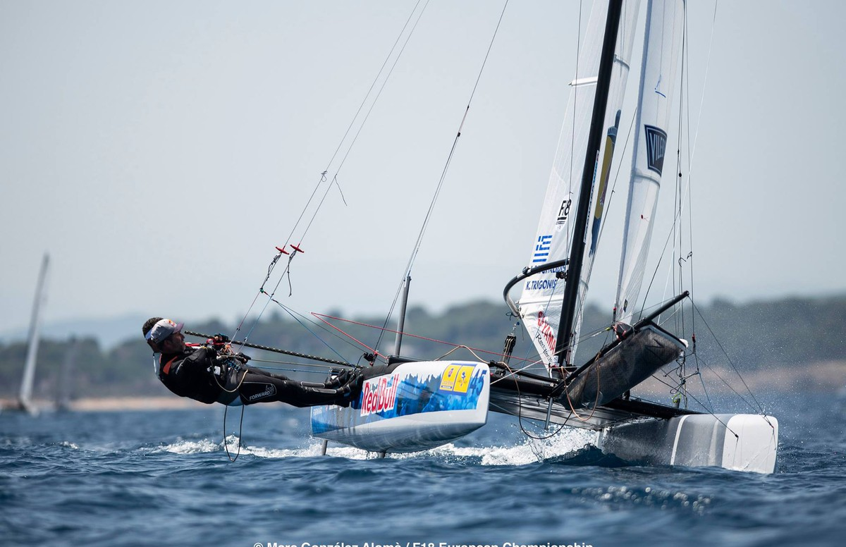 Paschalidis-Trigonis do confirm their leadership on 2018 F18 Europeans