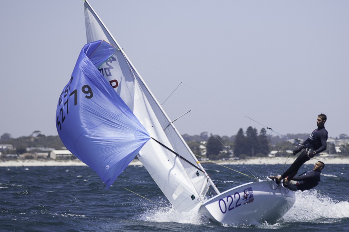 Big breeze shuffles 420 Worlds leaderboard on Race Day 4