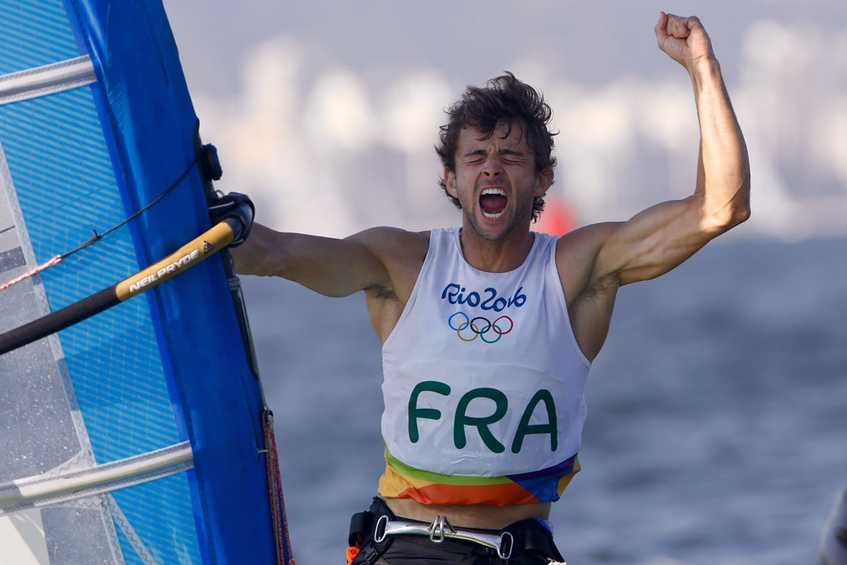 NEWSFLASH - France wins bronze in Men's Windsurfer behind Dutch gold and British silver