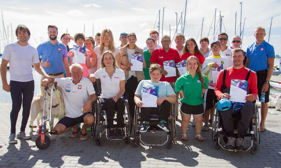 Poland plays host to sailors from all over the world for educational Paralympic Development Program