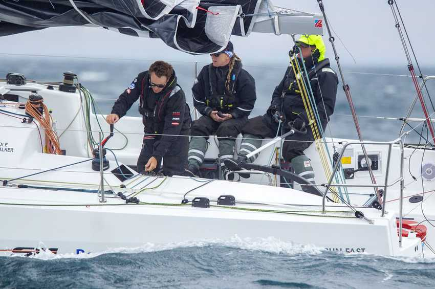 Olympic hopefuls win Melbourne to Devonport Yacht Race