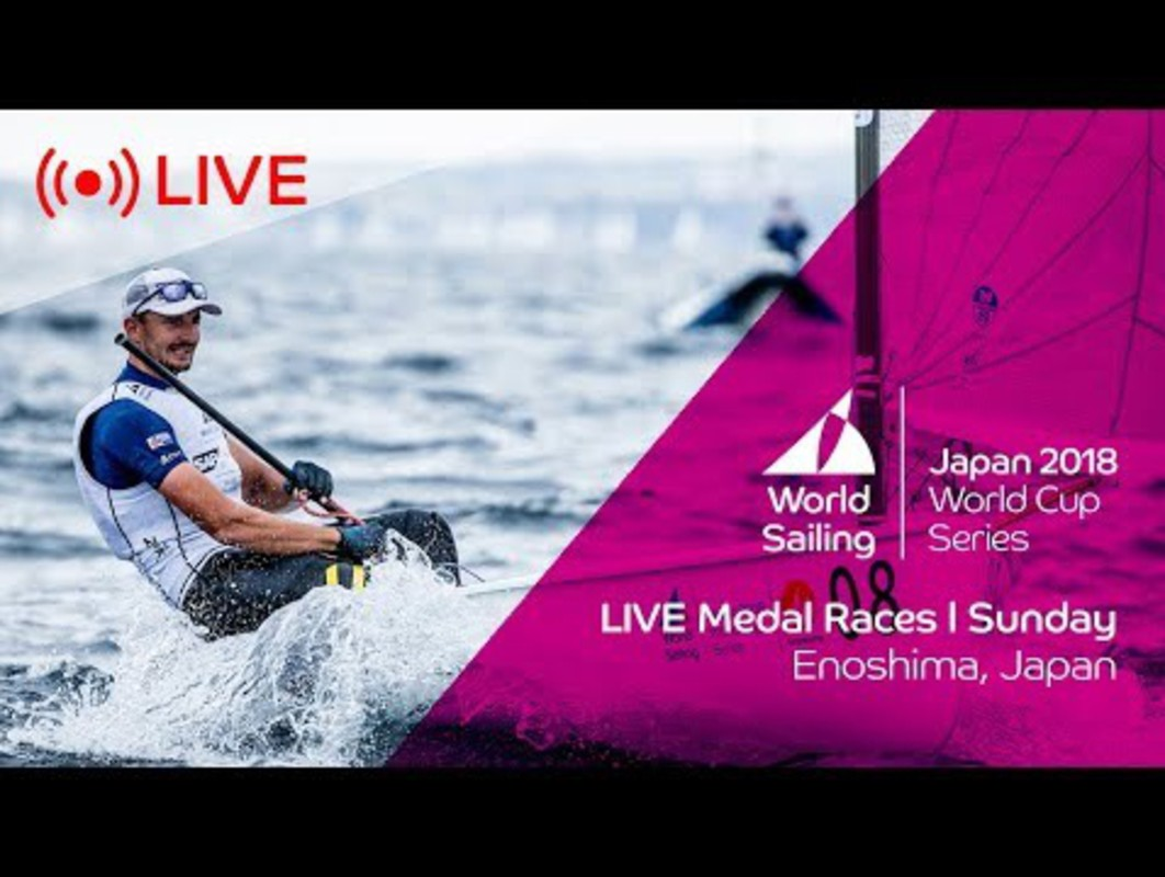 LIVE | Sailing's World Cup Series Enoshima, Japan | Medal Races | Sunday 16th September
