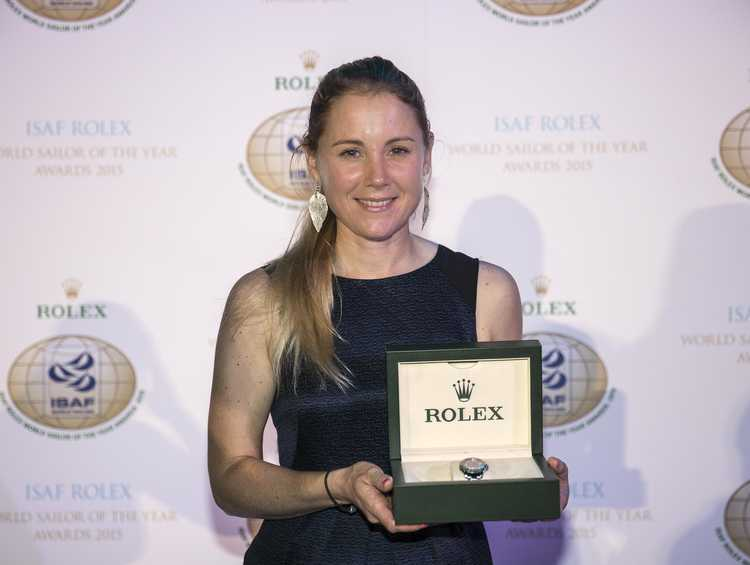 Sarah Ayton, Peter Burling and Blair Tuke named ISAF Rolex World Sailors of the Year