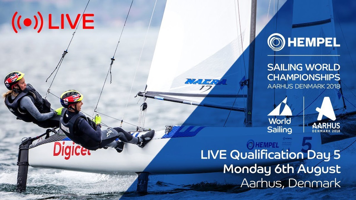 LIVE Sailing | Hempel Sailing World Championships | Qualification Day 5