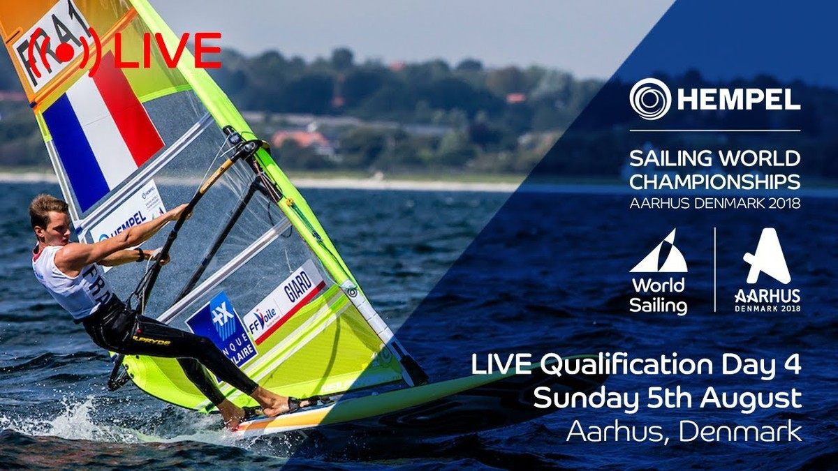 LIVE Sailing | Hempel Sailing World Championships | Qualification Day 4