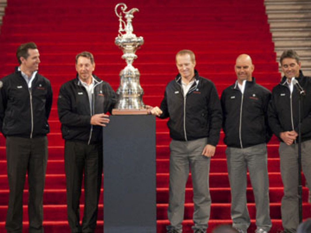 The America's Cup arrives in San Francisco