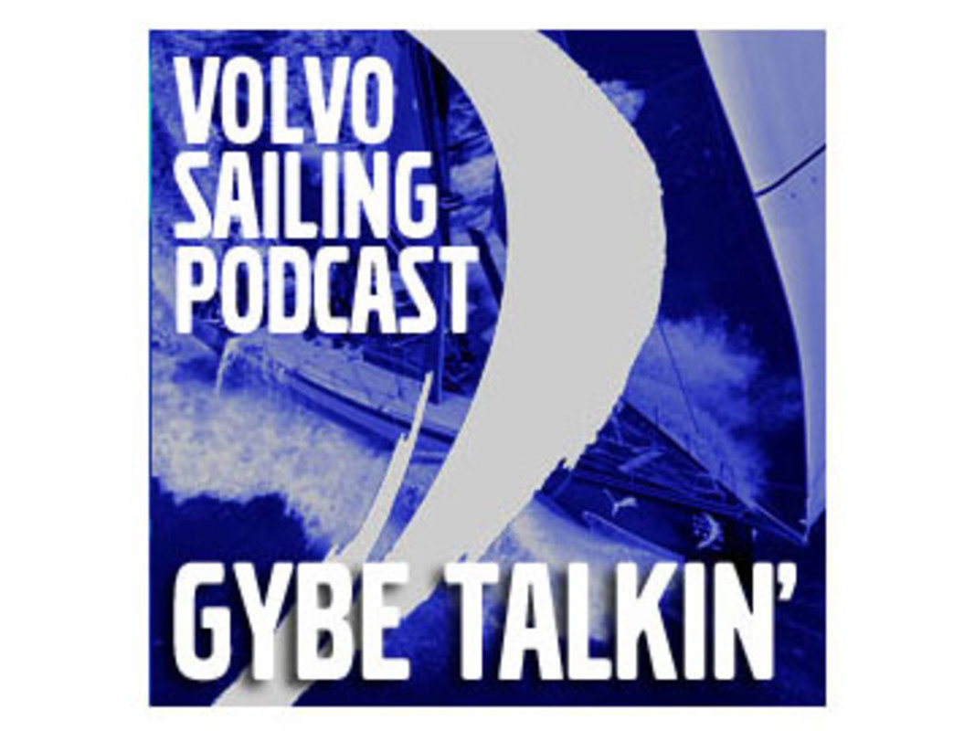 The Volvo Sailing Podcast logo