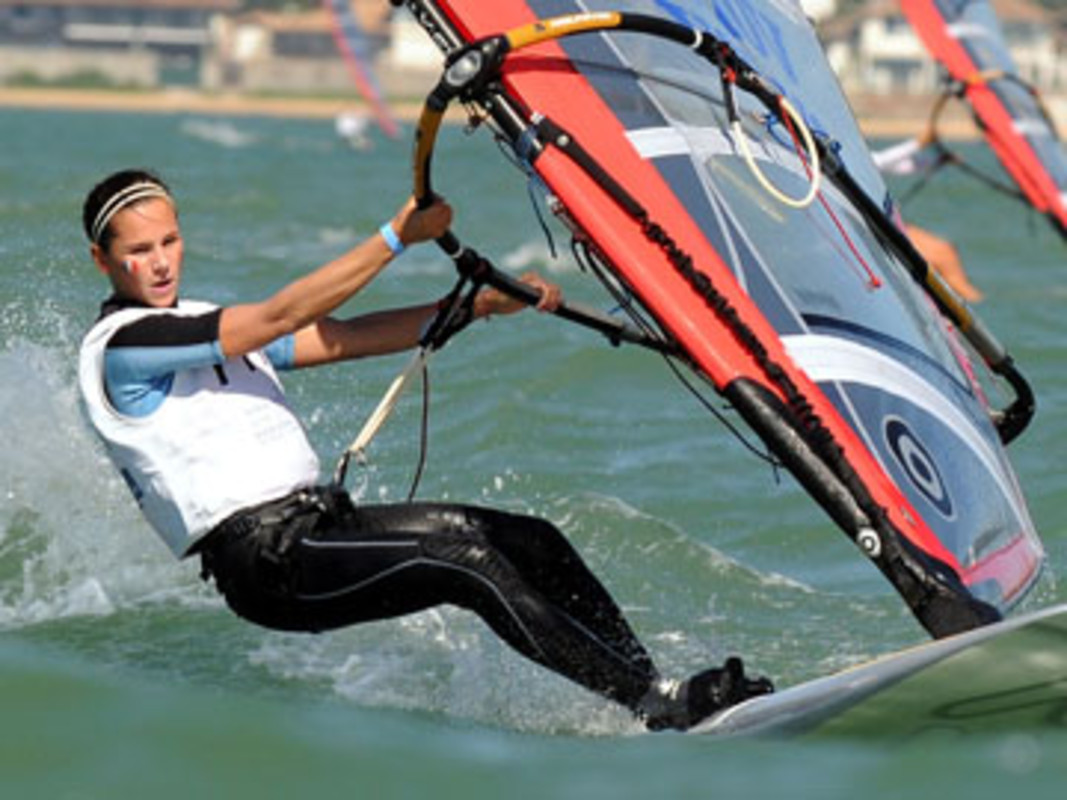 Leonore BOSCH of France, pictured competing at the 2008 Volvo Youth Sailing ISAF World Championship